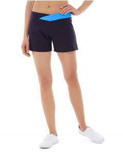 Bess Yoga Short-28-Blue